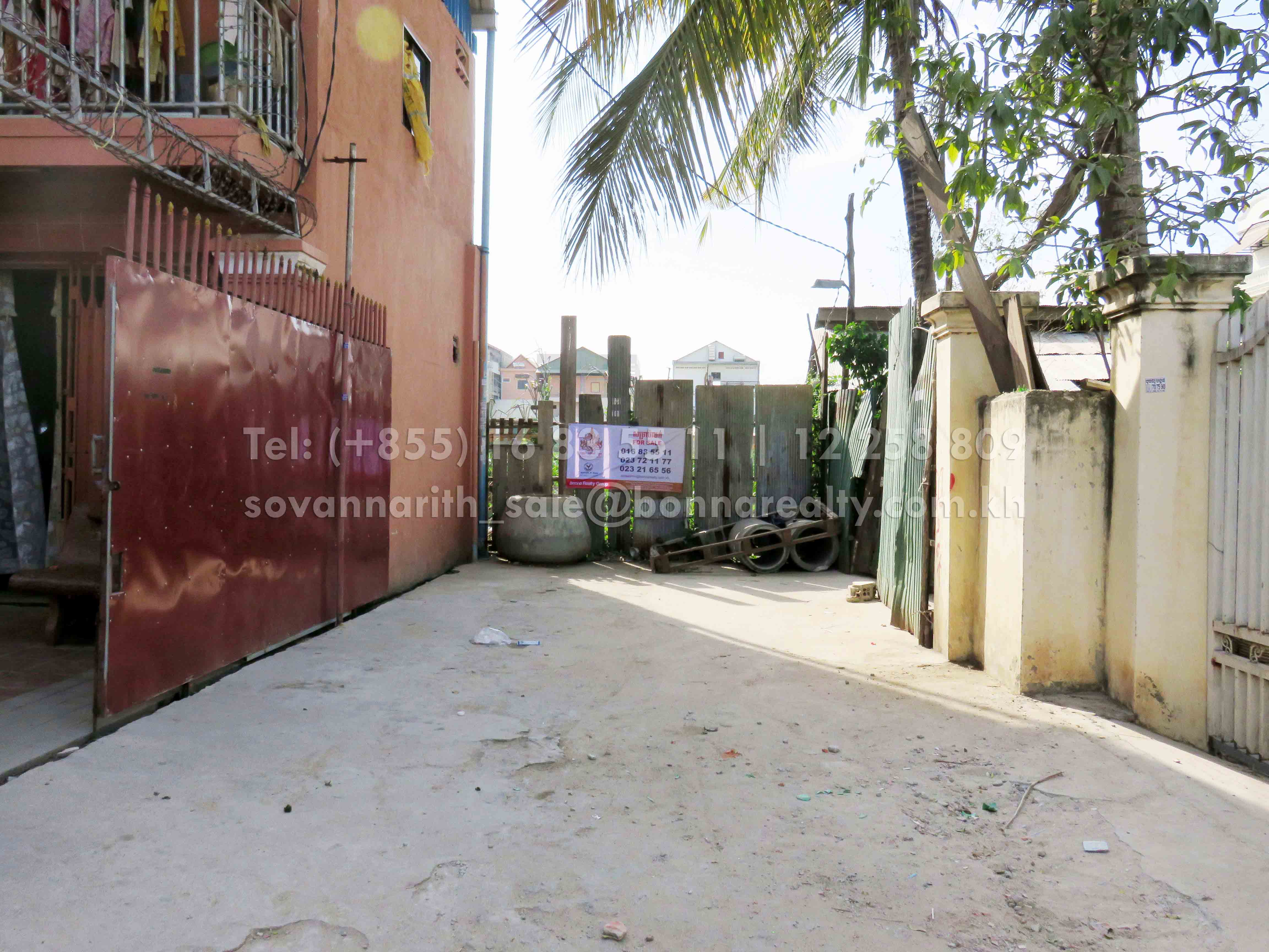 Land for sale near Heng Ly Market