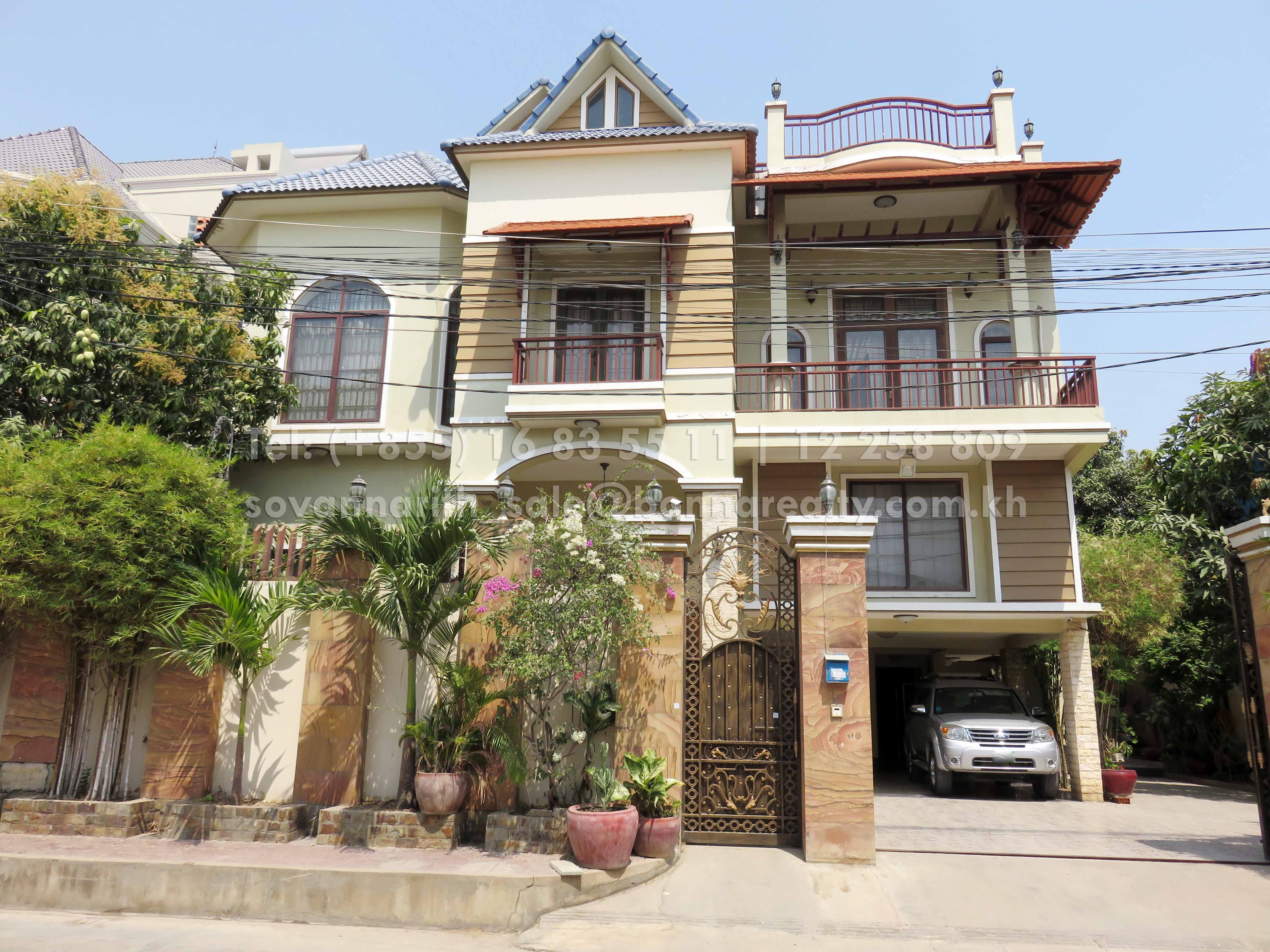 Nice Villa for rent in Stueng Mean Chey