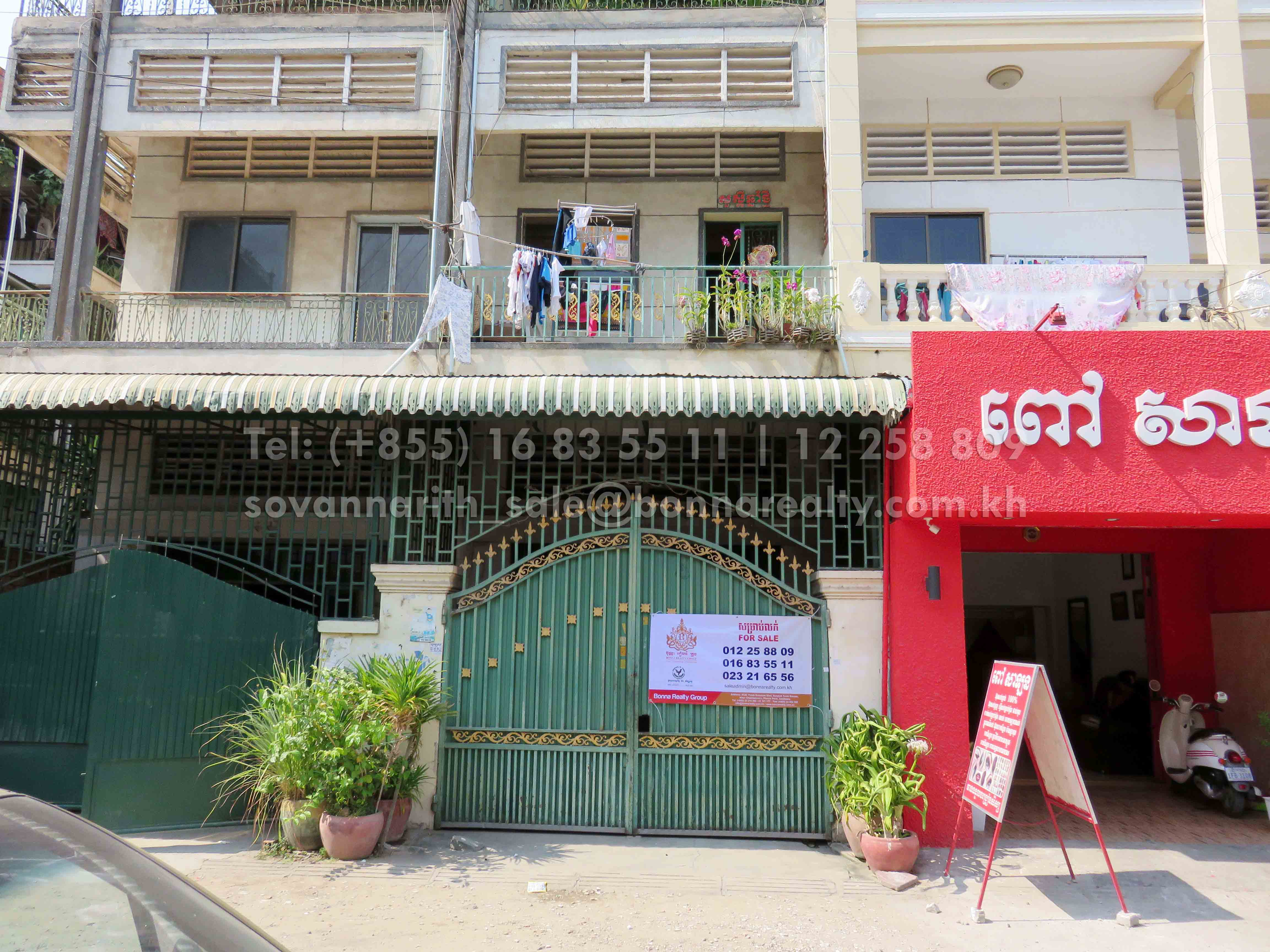 Flat for sale near Toul Sleng Genocide Museum